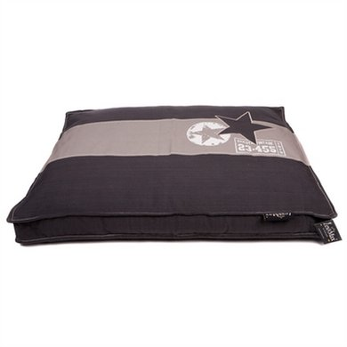 Lex&max Hoes Hondenkussen Boxbed Band Ster Antra 90x65x9cm
