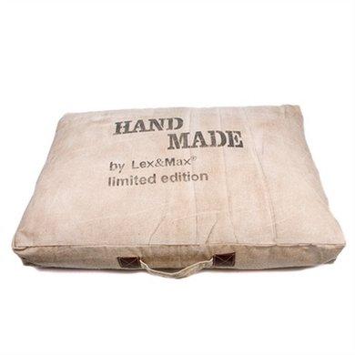 Lex&max Hondenkussen Boxbed Handmade 75x50x9cm