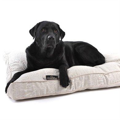 Lex&max Hoes Voor Hondenkussen Boxbed Chic Beige 120x80x9cm