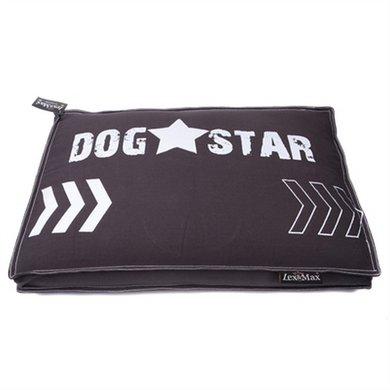 Lex&max Hoes Hondenkussen Boxbed Dog Star Antra 150x95x9cm