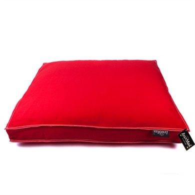 Lex&max Hoes Voor Hondenkussen Boxbed Tivoli Rood 75x50x9cm