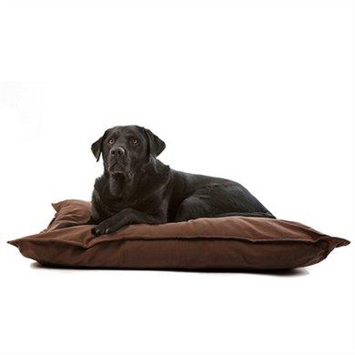 Lex&max Hoes Voor Hondenkussen Tivoli Naad Bruin 100x70cm
