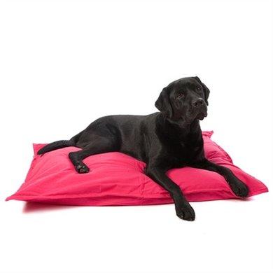 Lex&max Hoes Voor Hondenkussen Tivoli Naad Fuchsia 100x70cm