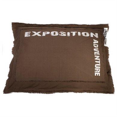 Lex&max Hoes Voor Hondenkussen Adventure Taupe 100x70cm