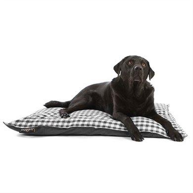 Lex&max Hoes Voor Hondenkussen Carlos Antraciet 100x70cm