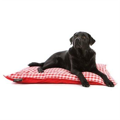 Lex&max Hoes Voor Hondenkussen Carlos Rood 100x70cm