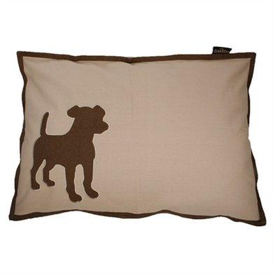 Lex&max Hoes Voor Hondenkussen Dog Kiezel 100x70cm
