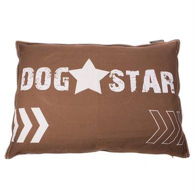 Lex&max Hoes Voor Hondenkussen Dog Star Taupe 100x70cm