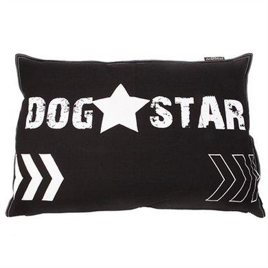 Lex&max Hoes Voor Hondenkussen Dog Star Antraciet 100x70cm