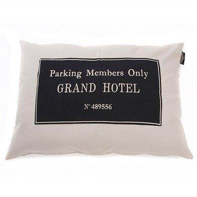 Lex&max Hoes Voor Hondenkussen Grand Hotel Kiezel 100x70cm