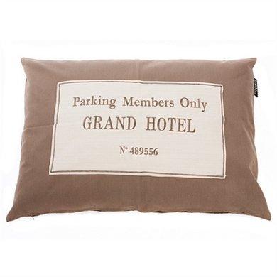 Lex&max Hoes Voor Hondenkussen Grand Hotel Taupe 100x70cm