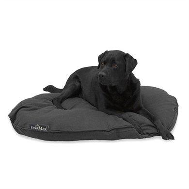 Lex&max Hoes Voor Hondenkussen Ovaal Maxima Antraciet 100cm