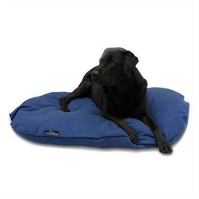 Lex&max Hoes Voor Hondenkussen Ovaal Maxima Blauw 80cm