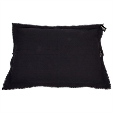 Lex&max Hoes Voor Hondenkussen Raw Uni Zwart 100x70cm