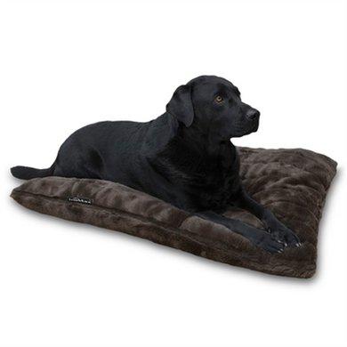 Lex&max Hoes Voor Hondenkussen Royal Fur Bruin 100x70cm