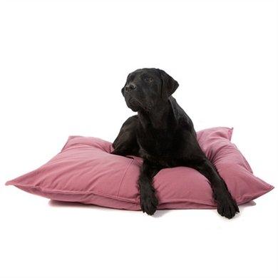 Lex&max Hoes Voor Hondenkussen Tivoli Oud Roze 100x70cm