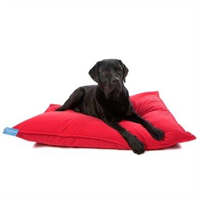 Lex&max Hoes Voor Hondenkussen Tivoli Rood 100x70cm
