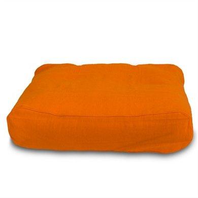 Lex&max Hoes Hondenkussen Ligzak Pro Oranje 100x70x21cm