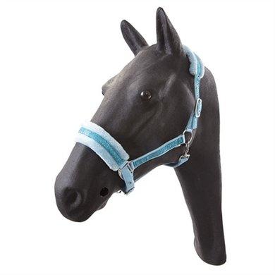 Hb Glamour Halster Pony LichtBlauw