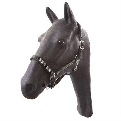 Hb Halster Pony Diamonds Collections Zwart