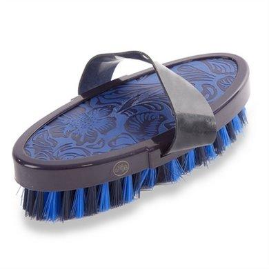 Hb Borstel Vintage Leather Look Soft Blauw