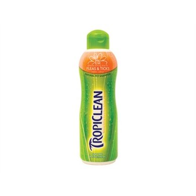 Tropiclean Optineem Flea  Tick Shampoo 592ml