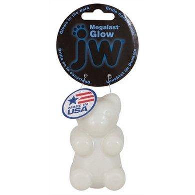 Jw Megalast Glow Bear Medium