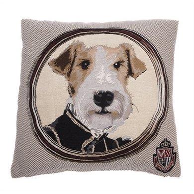 In The Mood Sierkussen Napoleon Fox Terrier 45x45cm