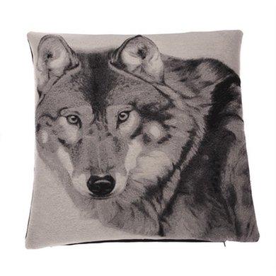 In The Mood Sierkussen Wood Wolf 45x45cm