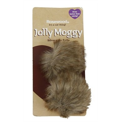 Jolly Moggy Silvervine Ballen 2 St
