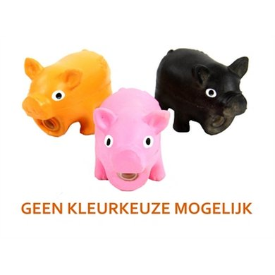 Doggy Dolittles Micro Pig Latex Zwijn Assorti 9cm