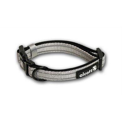 Alcott Essentials Adventure Halsband Refl Grijs 15x3cm