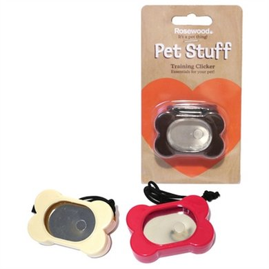 Rosewood Pet Stuff Training Clicker Assorti
