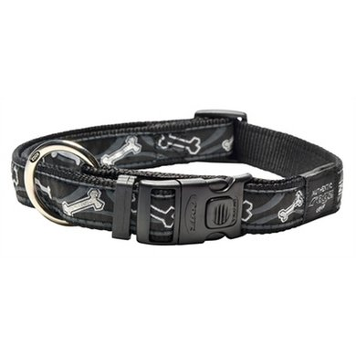 Rogz For Dogs Armed Response Halsband Blackbot 25mm 43-73cm
