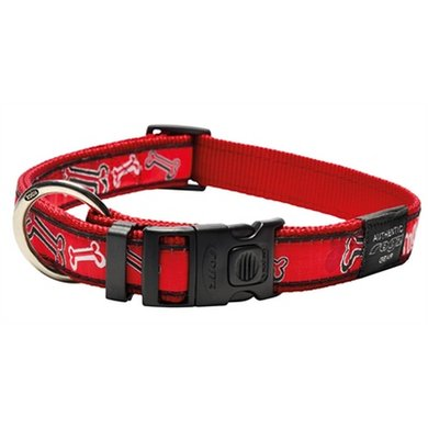 Rogz For Dogs Armed Response Halsband Red Rogz 25mm 43-73cm