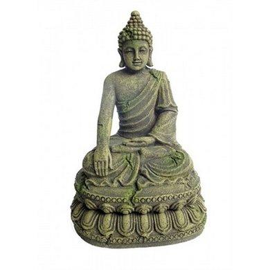 Aqua Della Aquarium Ornament Bayon Buddha 11x9x15.5cm