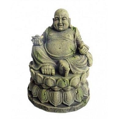 Aqua Della Aquarium Ornament Buddha 9.5x9.5x12.5cm