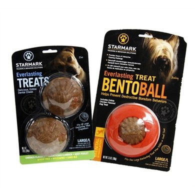 Starmark Everlasting Bento Voerbal Met Treat Veggie Large