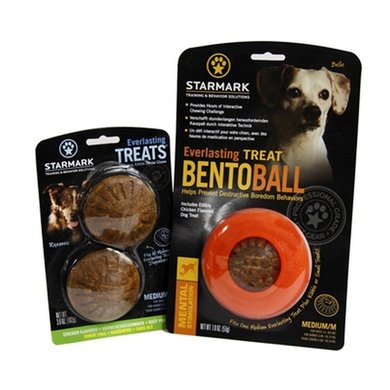 Starmark Everlasting Bento Voerbal Met Treat Veggie Medium