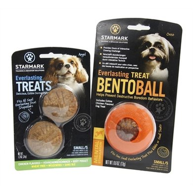 Starmark Everlasting Bento Voerbal Met Treat Veggie Small