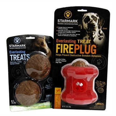 Starmark Everlasting Fire Plug Voerbal Treat Veggie Large
