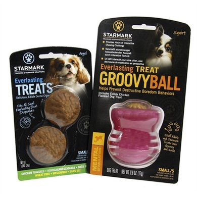 Starmark Everlasting Groovy Ball Voerbal Treat Veggie Small