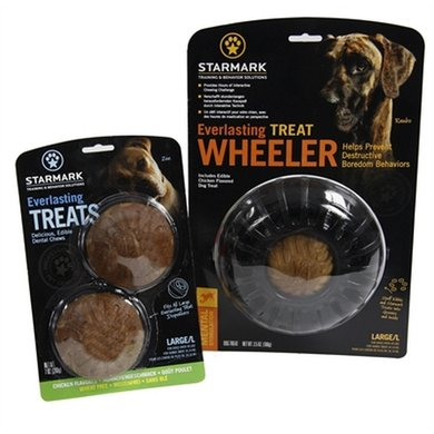 Starmark Everlasting Treat Wheeler Voerbal Treat Veggie L