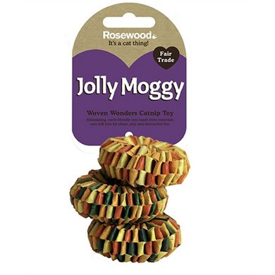Jolly Moggy Woven Wonders Multi-rings 3 St
