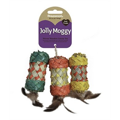 Jolly Moggy Woven Wonders Rollers Assorti