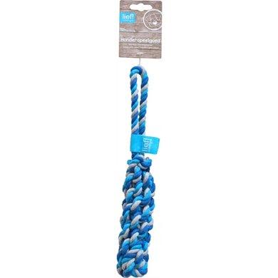 Lief! Hondenspeelgoed Flosstick Boys Blauw/Wit 32cm