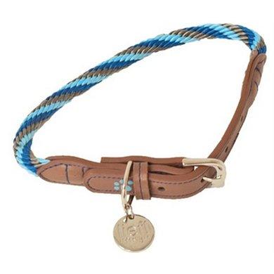 Lief! Halsband Boys Blauw/Bruin 37x0.8cm