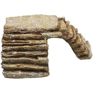 Komodo Hoektrap Met Uitsparing Zandsteen Large