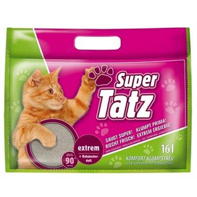 Super Tatz Extrem Met Babypoeder Geur 16l