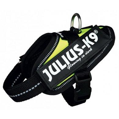 Julius K9 Idc Harnas/Tuig Neon Geel Baby 1/30-37cm